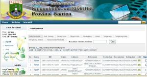 SIMDUK Sistem Informasi Kependudukan