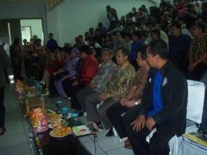 Tamu Undangan Lounching Linux Banten