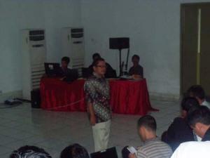 Onno W Purba Dalam Acara Deklarasi Linux Banten