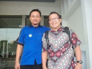 Relawan TIK Banten Bersama Onno W Porbo