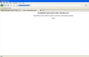 Grobogan Website Pemda
